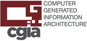 computer generated information architecture